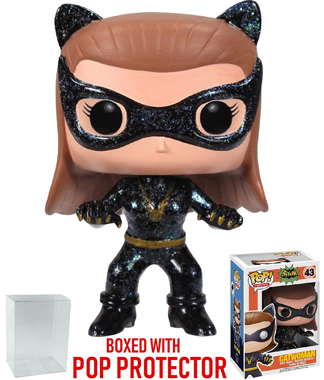 Bundled with Pop Box Protector CASE DC Heroes Batman 1966 TV Series 12010587 Funko Pop Catwoman Vinyl Figure