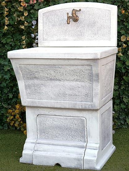 LAVATOIO DELLA RUGA LAVABO IN CEMENTO E MARMO 1808+1799 COLORE ...