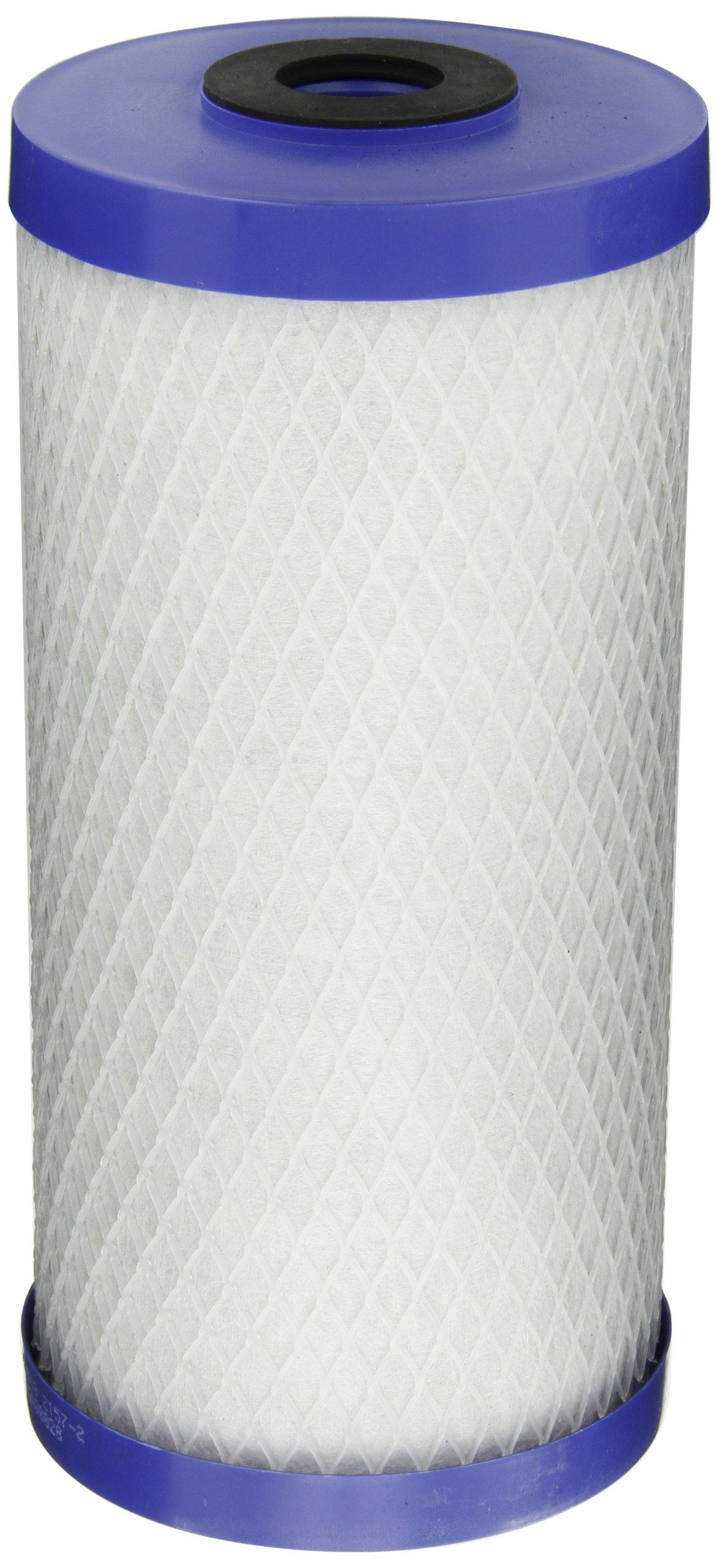 Pentek EP-BB Carbon Block Filter Cartridge, 9-3/4'' x 4-5/8'', 5 Microns