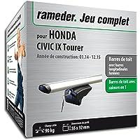 Rameder Pack Barres de Toit Pick-Up pour Honda Civic IX Tourer (111287-11755-55-FR)