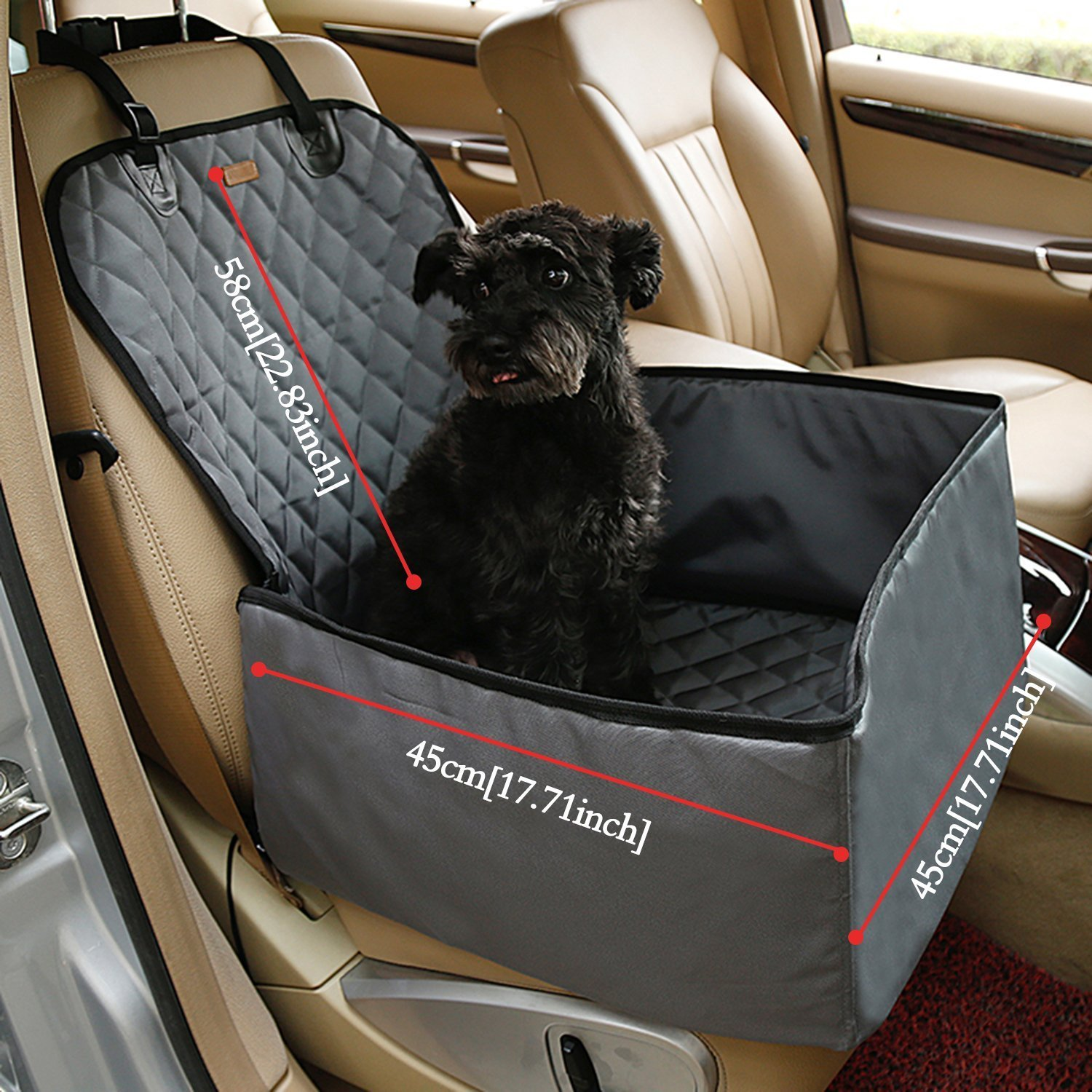 Fine Ospet Waterproof Dog Safe Seat Multi Function Pet Front Seat Cover Perfect For Small And Medium Pets Frankydiablos Diy Chair Ideas Frankydiabloscom