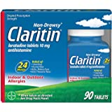 Claritin Allergy 24 Hour Tablets, 10 mg, 90-Count