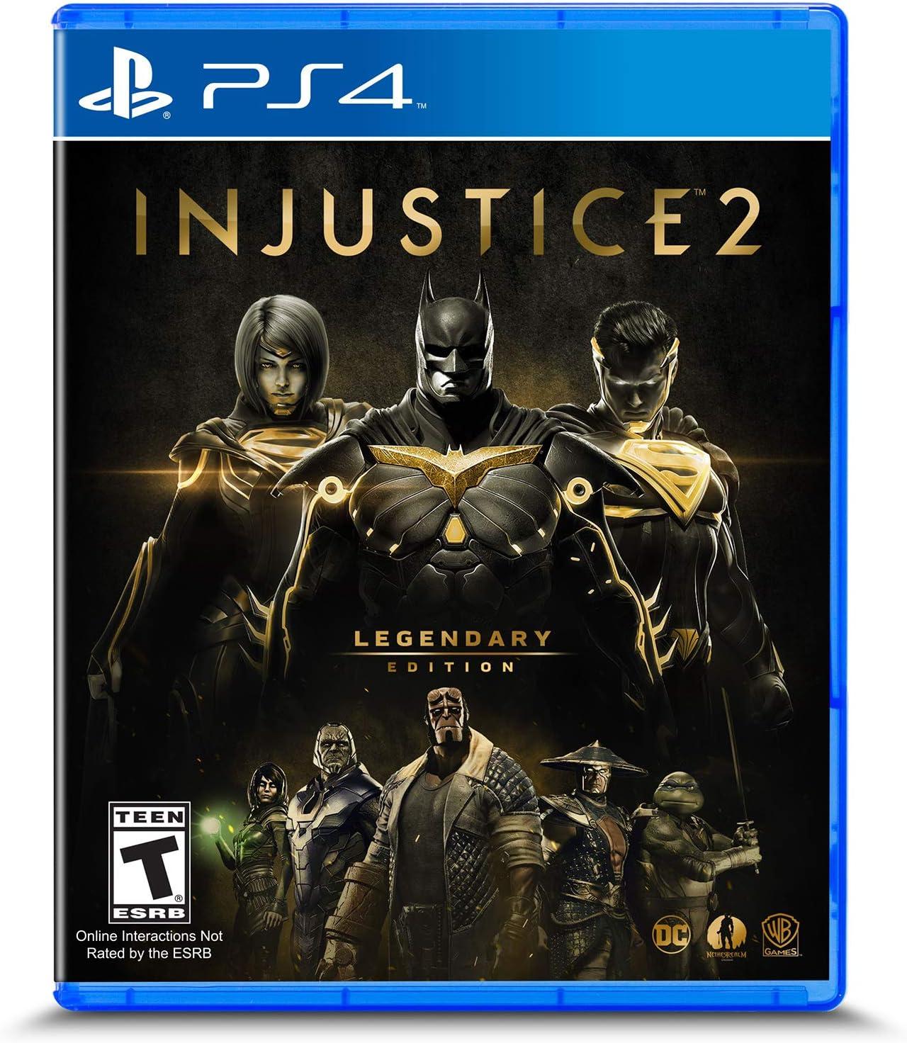 Amazon.com: Injustice 2: Legendary Edition - PlayStation 4 ...