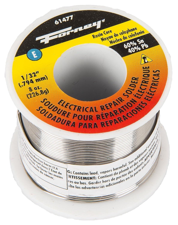 Forney 61477 Electrical Repair Rosin Core Solder, 1/32-Inch - - Amazon.com
