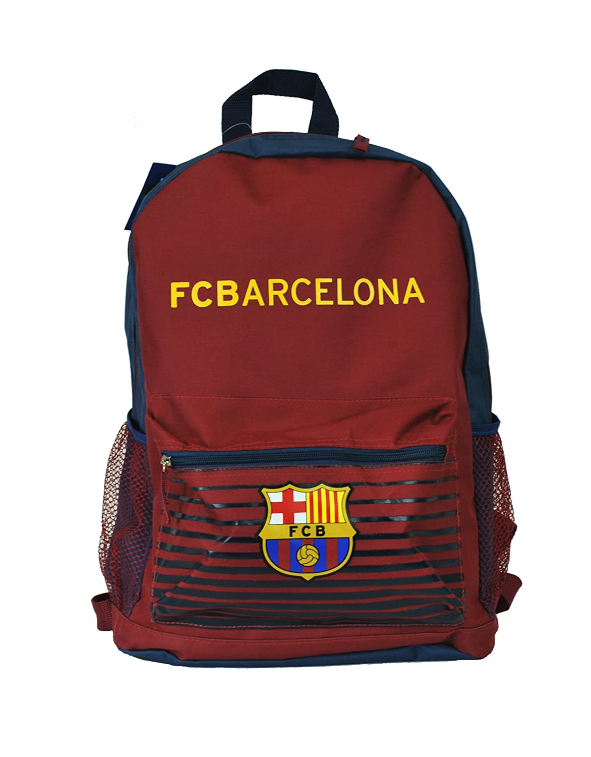 Amazon.com : FC Barcelona Messi Soccer Backpack Schoolbag Adjustable Straps (Manchester United) : Sports & Outdoors
