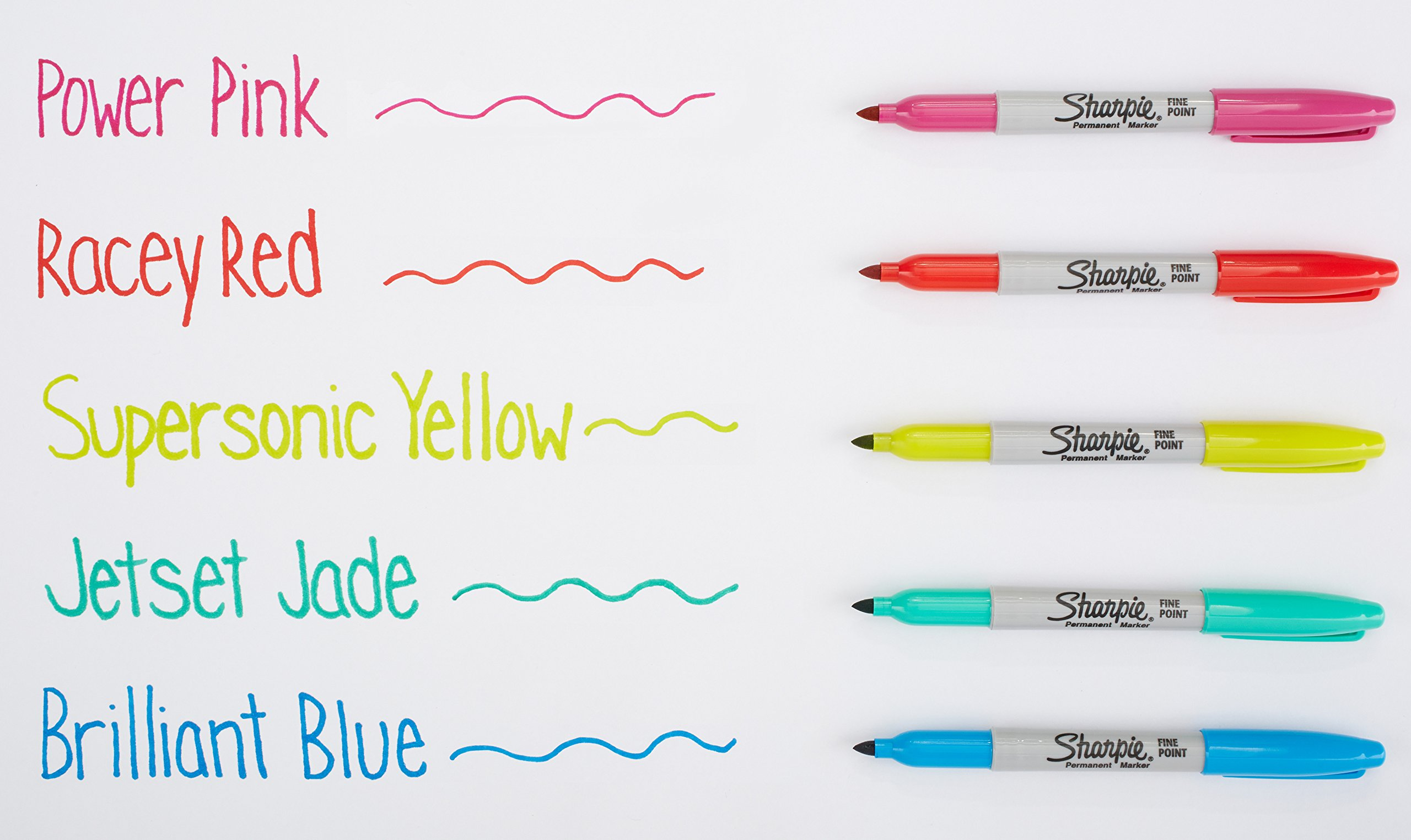 Sharpie Color Burst Permanent Markers, Fine Point, Assorted Colors, 24 Count by Sharpie (Image #5)