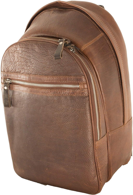 Ashwood Mens Leather Rucksack Tan