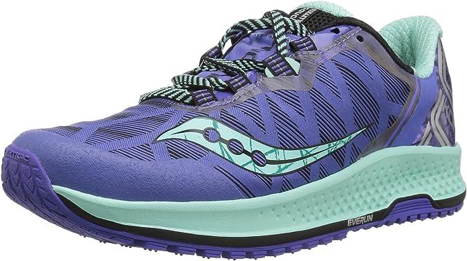 Saucony KOA TR, Zapatillas de Trail-Running para Mujer, Violet ...