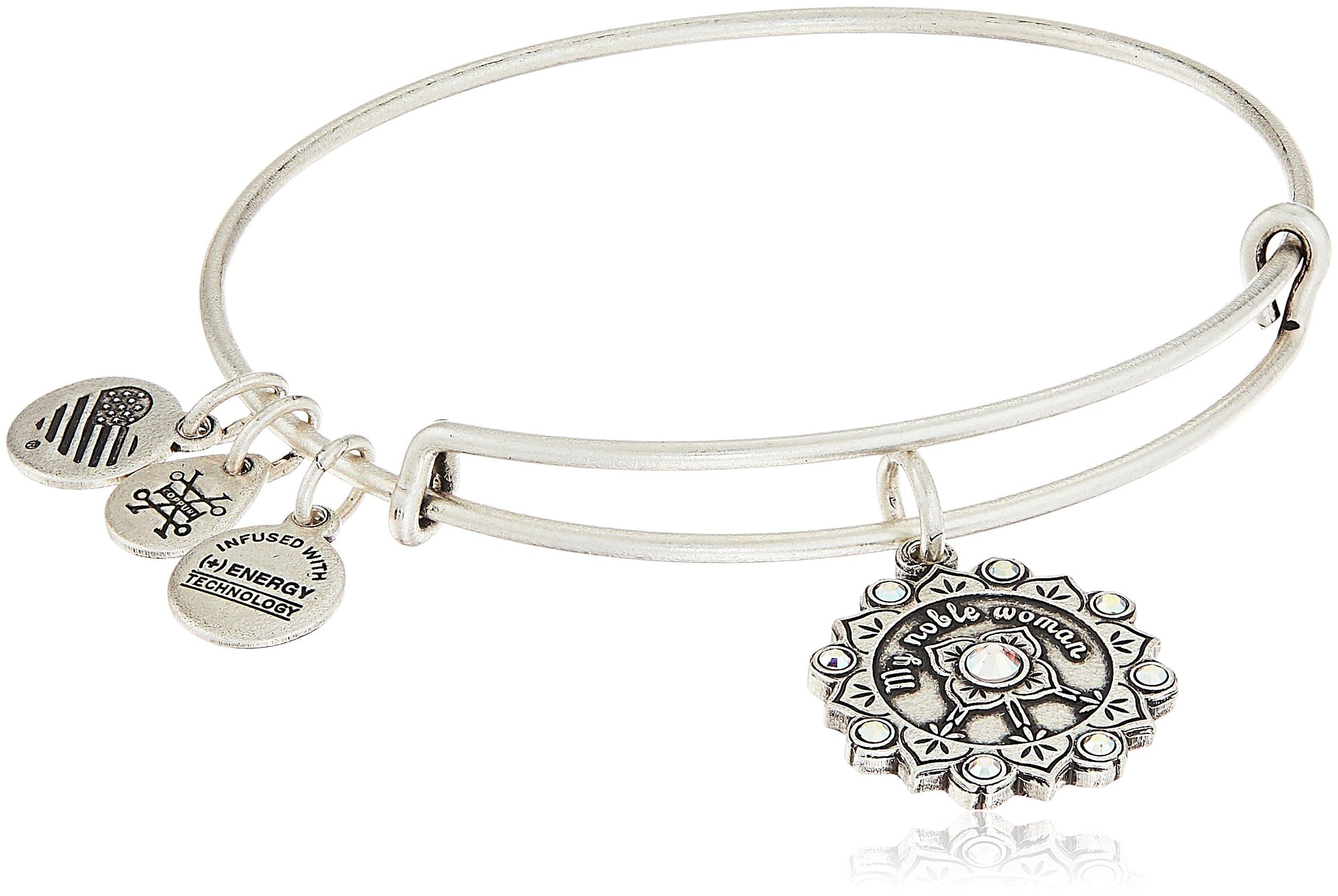 Alex and Ani Maid of Honor Rafaelian Silver Bangle Bracelet