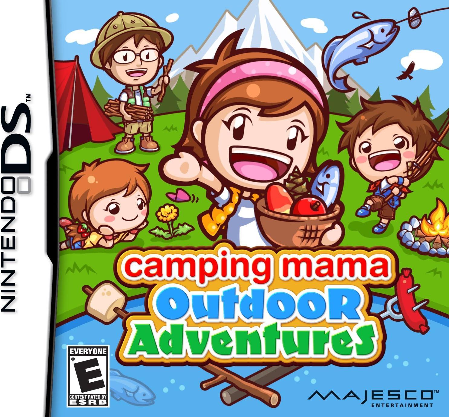 Amazoncom Camping Mama Outdoor Adventures Nintendo DS Majesco
