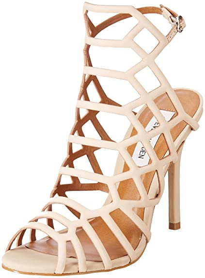 7f90deef8ed42f Steve Madden Women s Slithur Leather Fashion Sandals  Buy Online at ...