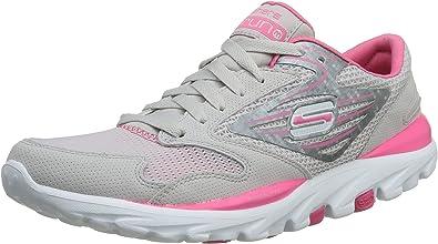 Skechers Go Run 13500 - Zapatillas de Deporte para Mujer, Talla 35: Amazon.es: Zapatos y complementos