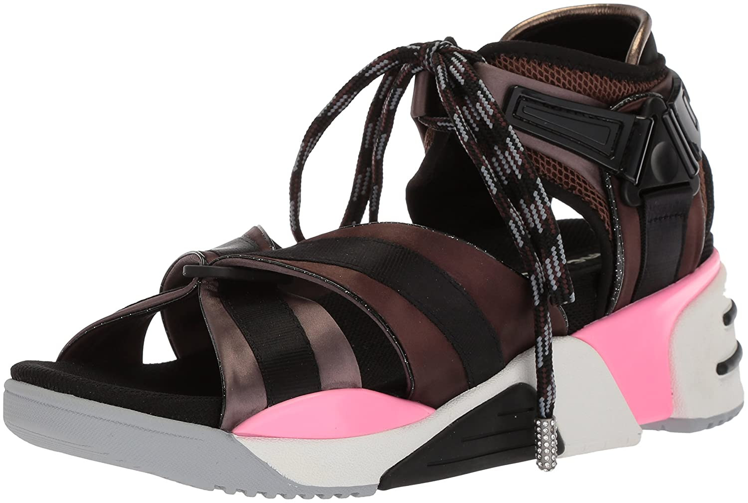 Marc Jacobs Women's Somewhere Sport Sandal B075Y66HXP 39 M EU (9 US)|Black/Multi