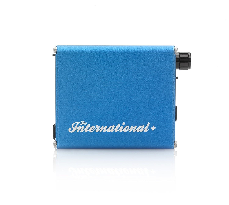 大洲市 ALO Audio The ALO-2514 International The + ブルー DAC搭載ポータブルヘッドホンアンプ B00KD4FJZY バランス伝送対応 ハイレゾ音源対応 ALO-2514 B00KD4FJZY ブルー, WINS HOUSE:982001af --- crisscross.co.in