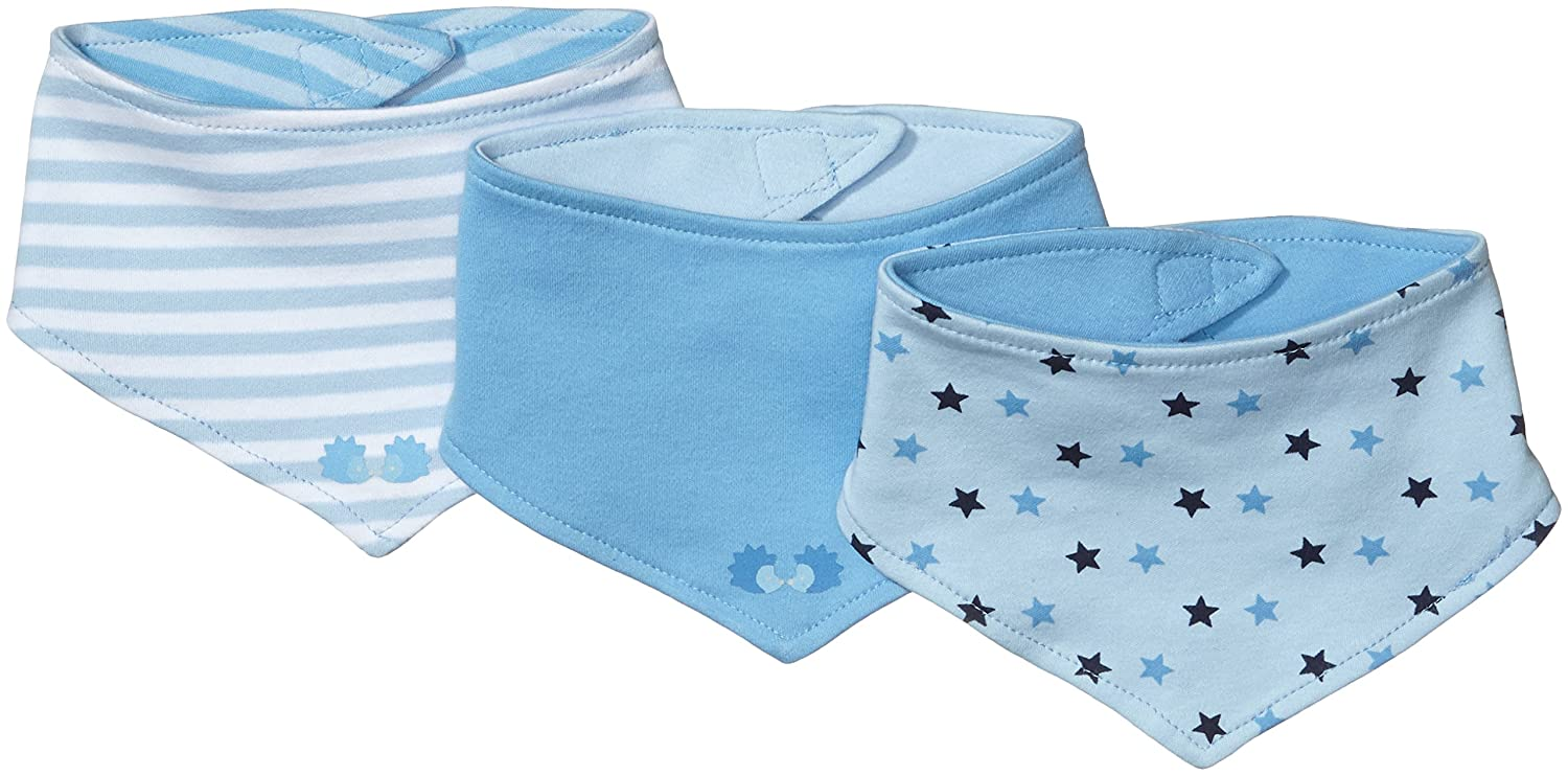 Twins Baby Boy's Neckerchief, Pack of 3 Twins Baby Boys Neckerchief 3-Pack Blue One Size