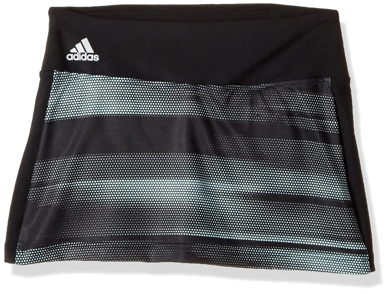 Adidas GirlsテニスAdvantageスカート X-Large ブラック B01MSPSJK3, 白馬スポーツ 8510181e
