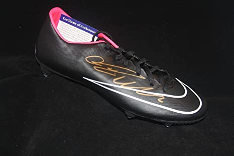 Image Unavailable. Image not available for. Color  Cristiano Ronaldo  Autographed Soccer Shoe Certified - PSA DNA Certified - Autographed Soccer  Cleats 0e4b6bed292