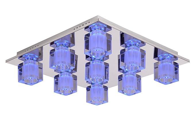 Lucide 32150/29/11 Killy - Lámpara de techo LED (15,5 cm, 9 ...