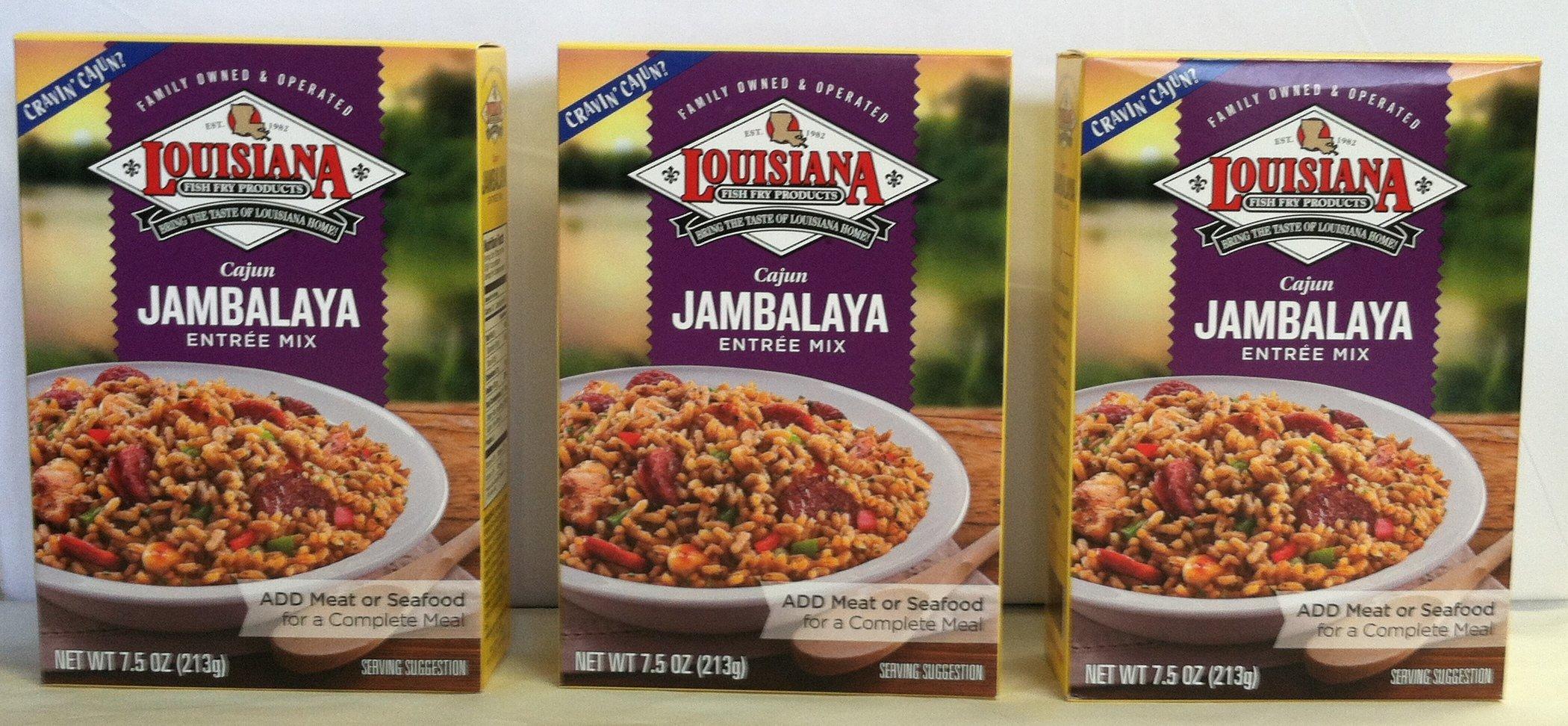 Louisiana Cajun Jambalaya Mix 3 Pack