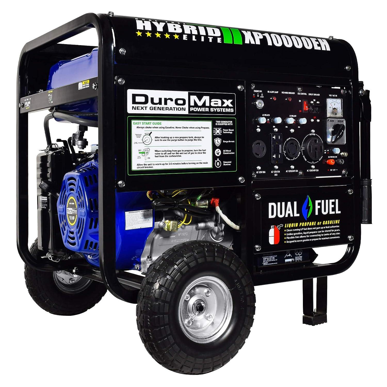 Duromax Generator Wiring Diagram Libraries Mins Amazon Com Xp10000eh 10000 Watt Dual Fuel Hybrid Generatoramazon W Elec Start 50 State
