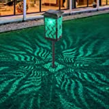 Solar Lights Outdoor, Bebrant Upgraded Solar Pathway Garden Lights Super Bright & Longer Working Time IP65 Waterproof Landsca