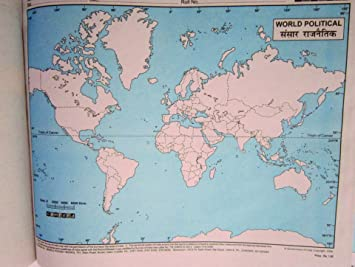 Practice map world political set of 200 amazon office products gumiabroncs Choice Image