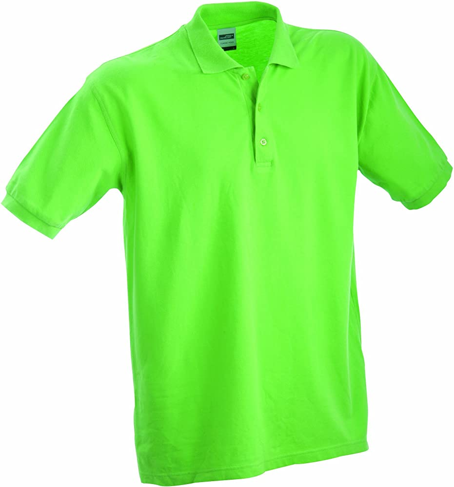 James & Nicholson Childrens - Polo infantil, Verde (grün lime ...