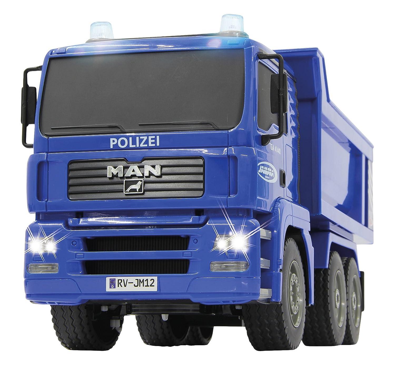 Jamara Man Polizei 1:20 Vehículos De Control Remoto, Color Azul (405080)