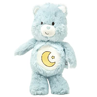 Care Bears Bedtime Bear Bean Bag Rattle - Stuffed Animal Plush Toy : Baby