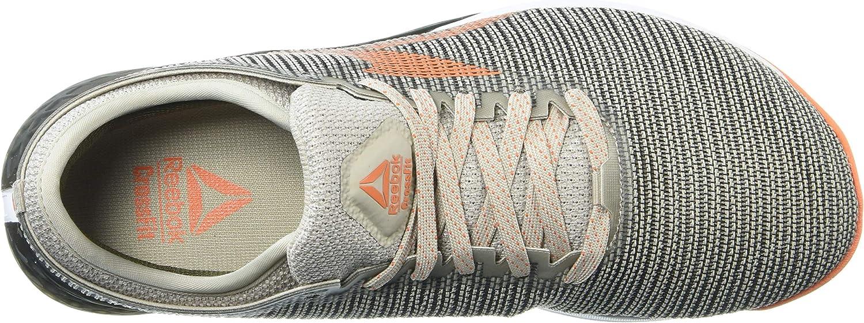 Reebok Nano 9, Chaussure athlétique Tout Sport Homme Sable Clair Vert Armée Orange Flamme
