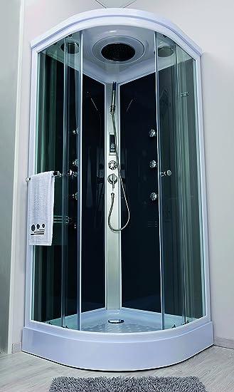 Aqua Plus sachcabarmgr Armonie de cabina de ducha Hydro 1/4 C 90 ...