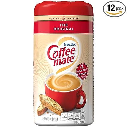 Coffee-Mate - Crema de café en polvo regular: Amazon.com ...