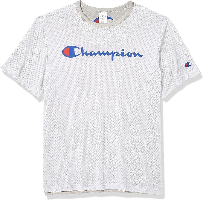 Champion Reversible Mesh tee Camiseta para Hombre: Amazon.es: Ropa y accesorios