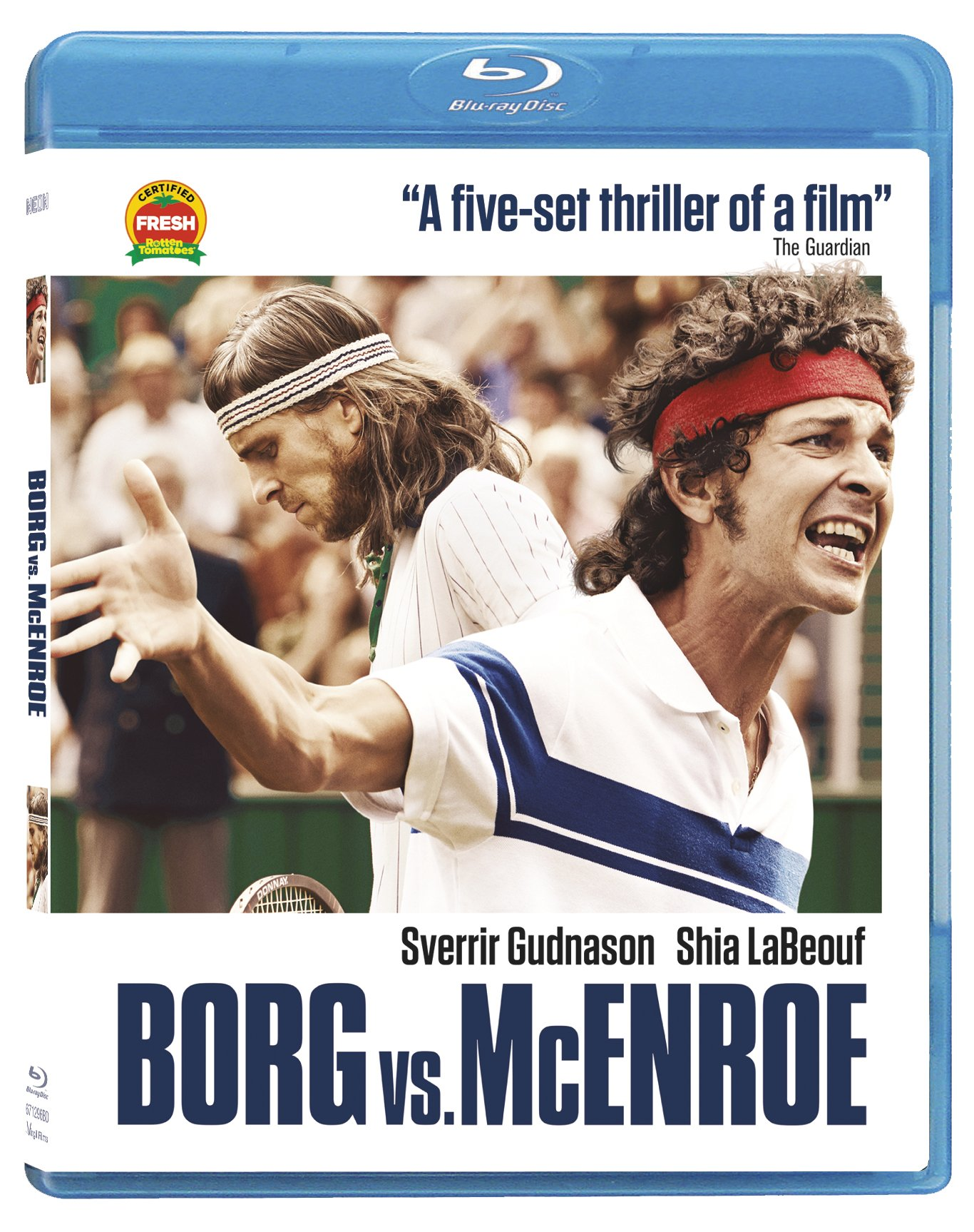 Blu-ray : Borg Vs. Mcenroe (Blu-ray)