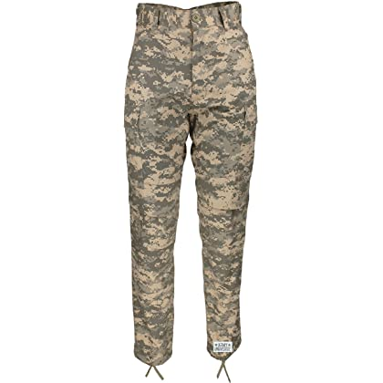 Army Universe Mens ACU Digital Camouflage Poly  Cotton Military BDU Army  Fatigues Cargo Pants with ... 439611748