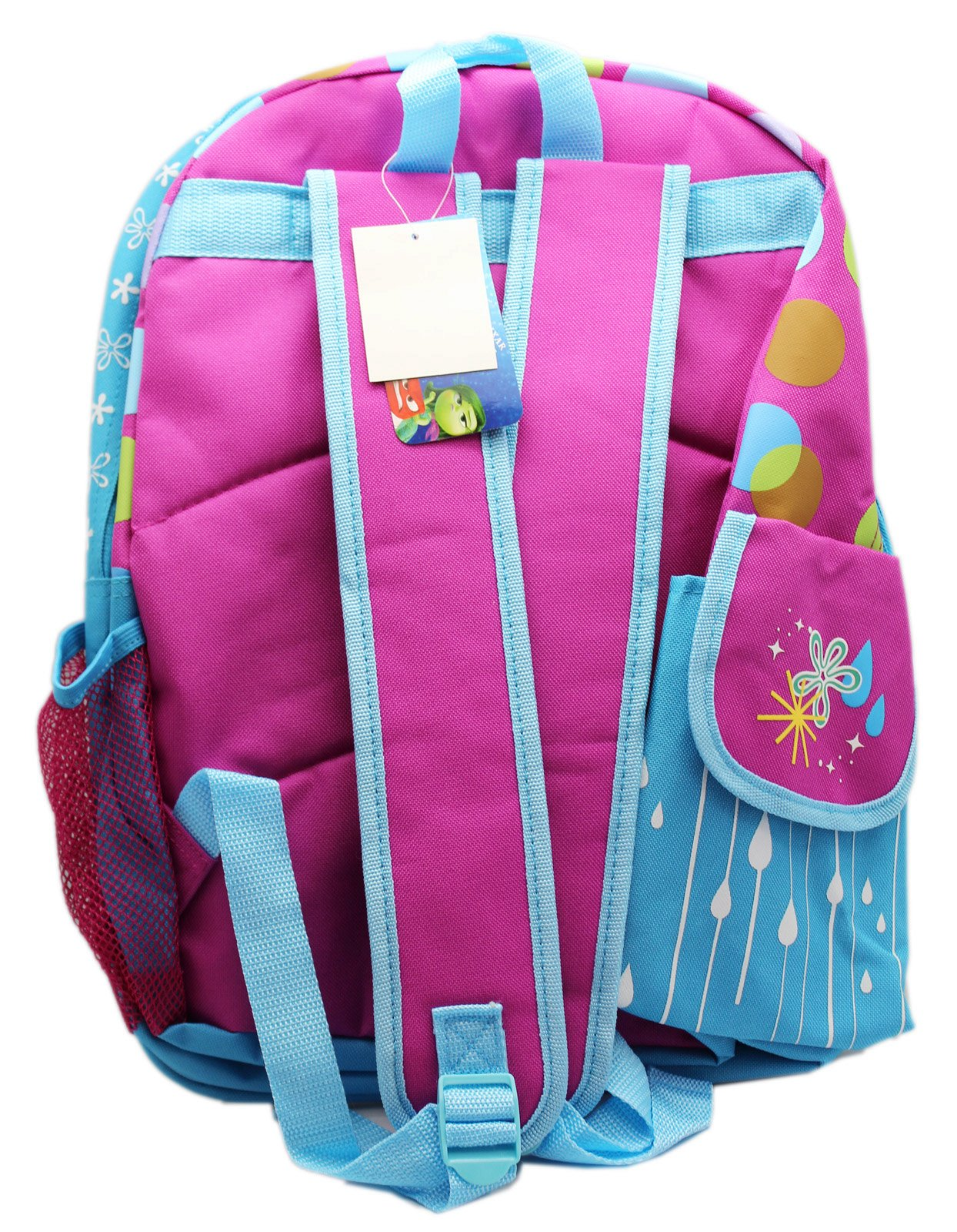 Disney Girl's Inside Out Large 16'' inches Backpack - Licensed - BRAND NEW