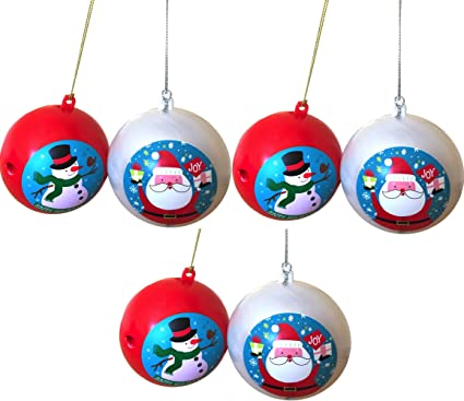 Christmas Decoration Ornaments Motion Activated Ornament Sings We Wish You  a Merry Christmas and Lights up - Amazon.com: Christmas Decoration Ornaments Motion Activated Ornament