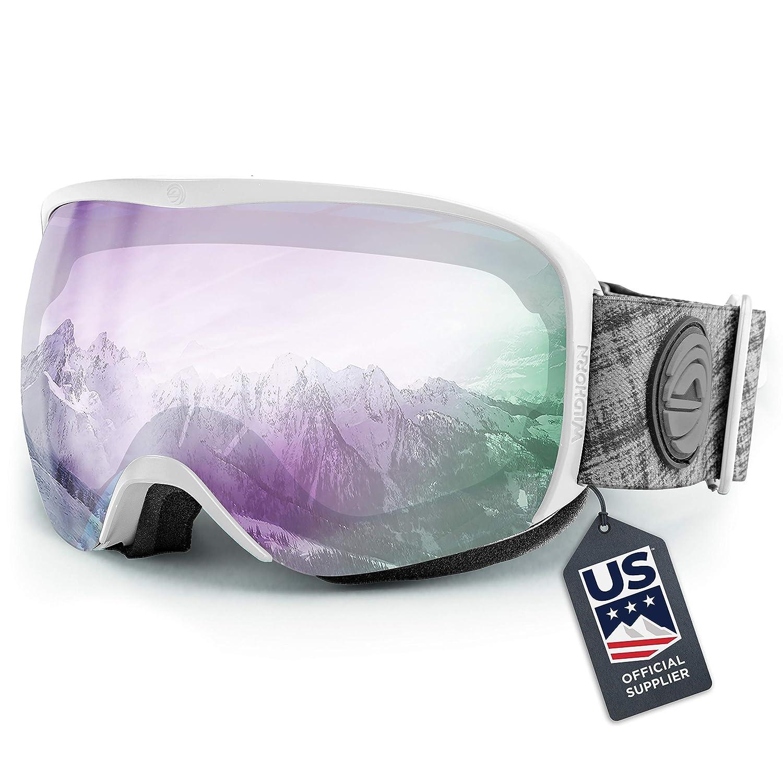Wildhorn Cristo Ski Goggles - US Ski Team Official Supplier - Snow Goggles for Men, Women & Youth