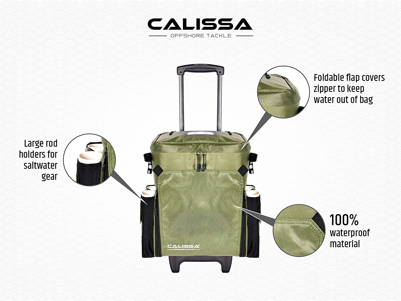 Calissa Fishing backpack