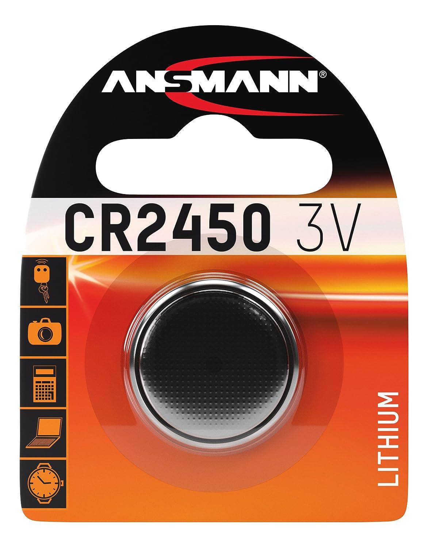 Ansmann 5020132 CR 1616 - Pilas de botón en blister, batería litio: Amazon.es: Electrónica