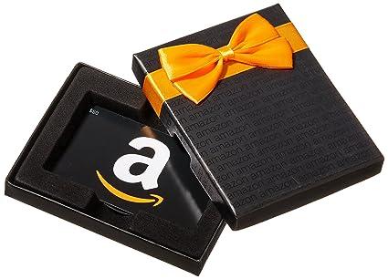 Amazon.ca $50 Gift Card in a Black Gift Box (Classic Black Card ...