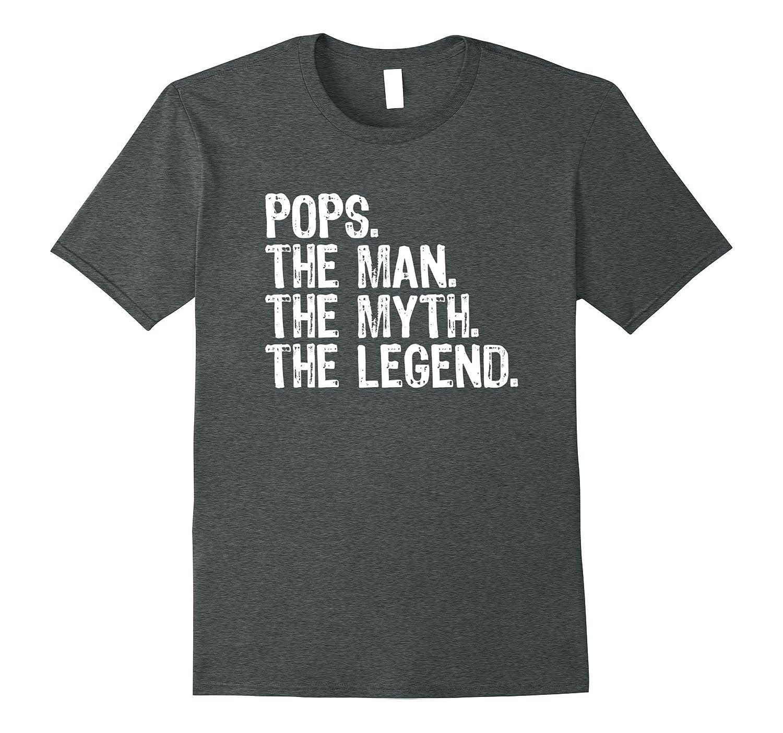 Mens Pops The Man The Myth The Legend T-Shirt-Vaci