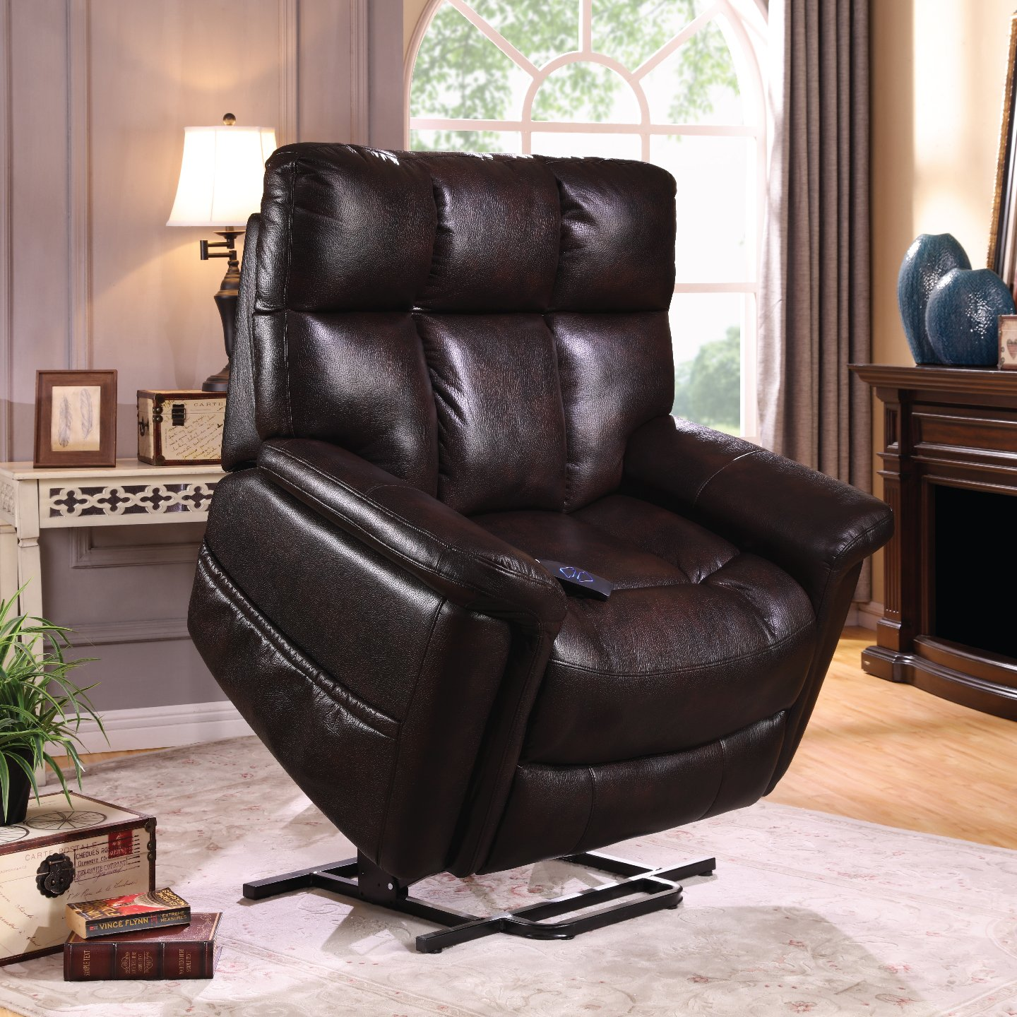 therapedic lift chair recliner with carbon fiber heat u0026 sonic massage extra large lift chair