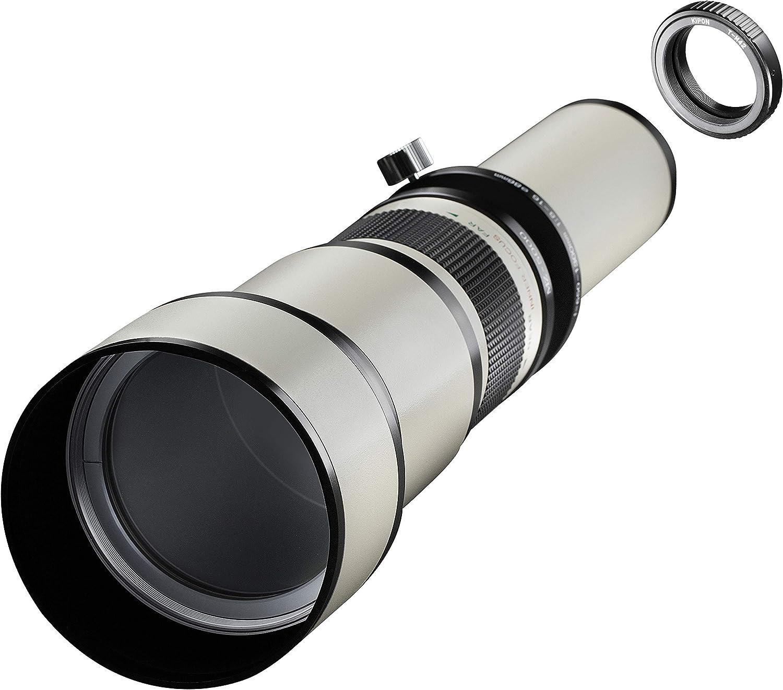 Samyang MF - Cámara réflex Digital (650-1300 mm, F8.0-16.0, M42 ...