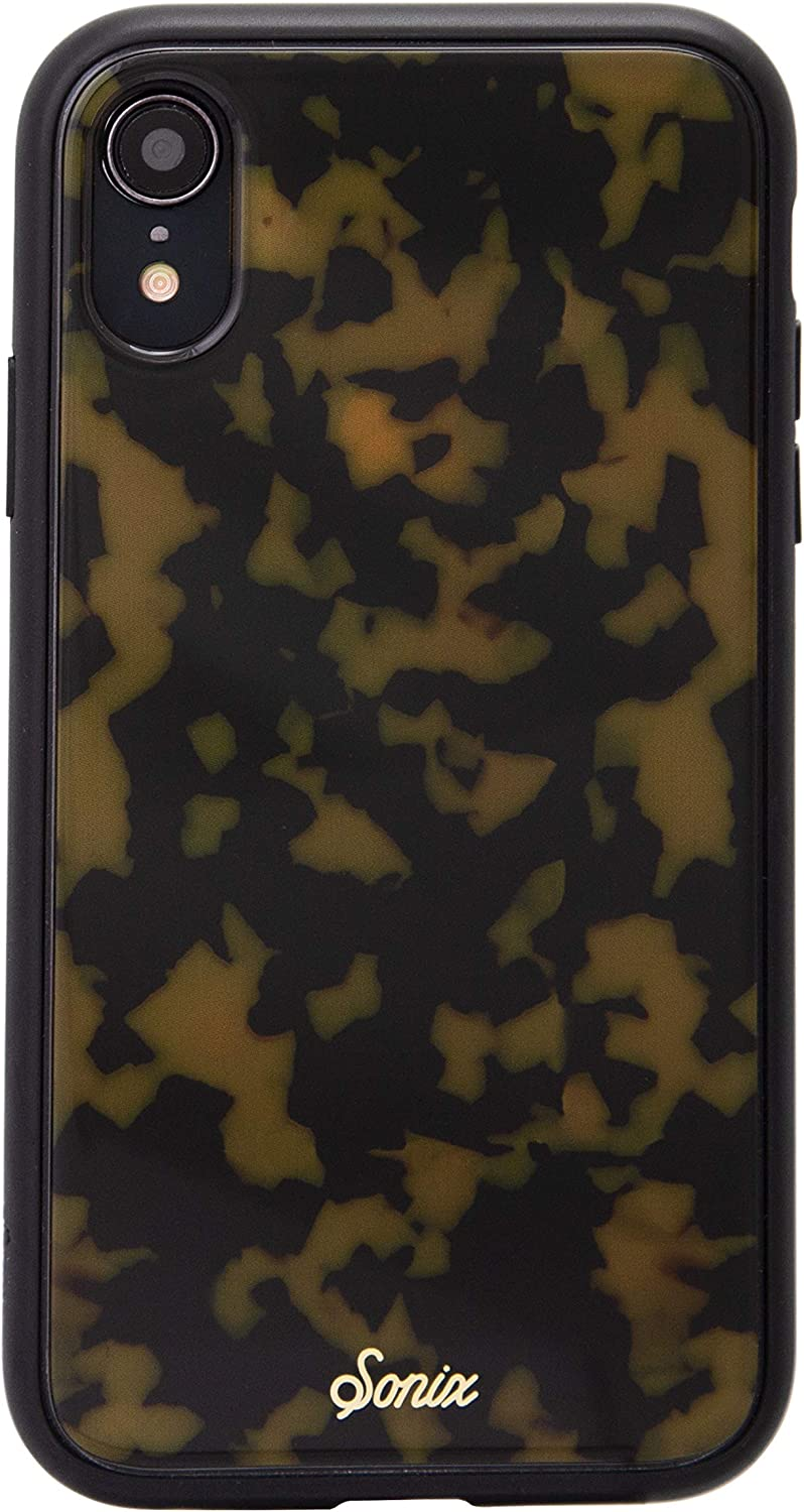 Sonix Brown Tort Case for iPhone XR Protective Tortoiseshell Leopard Case for Apple iPhone XR