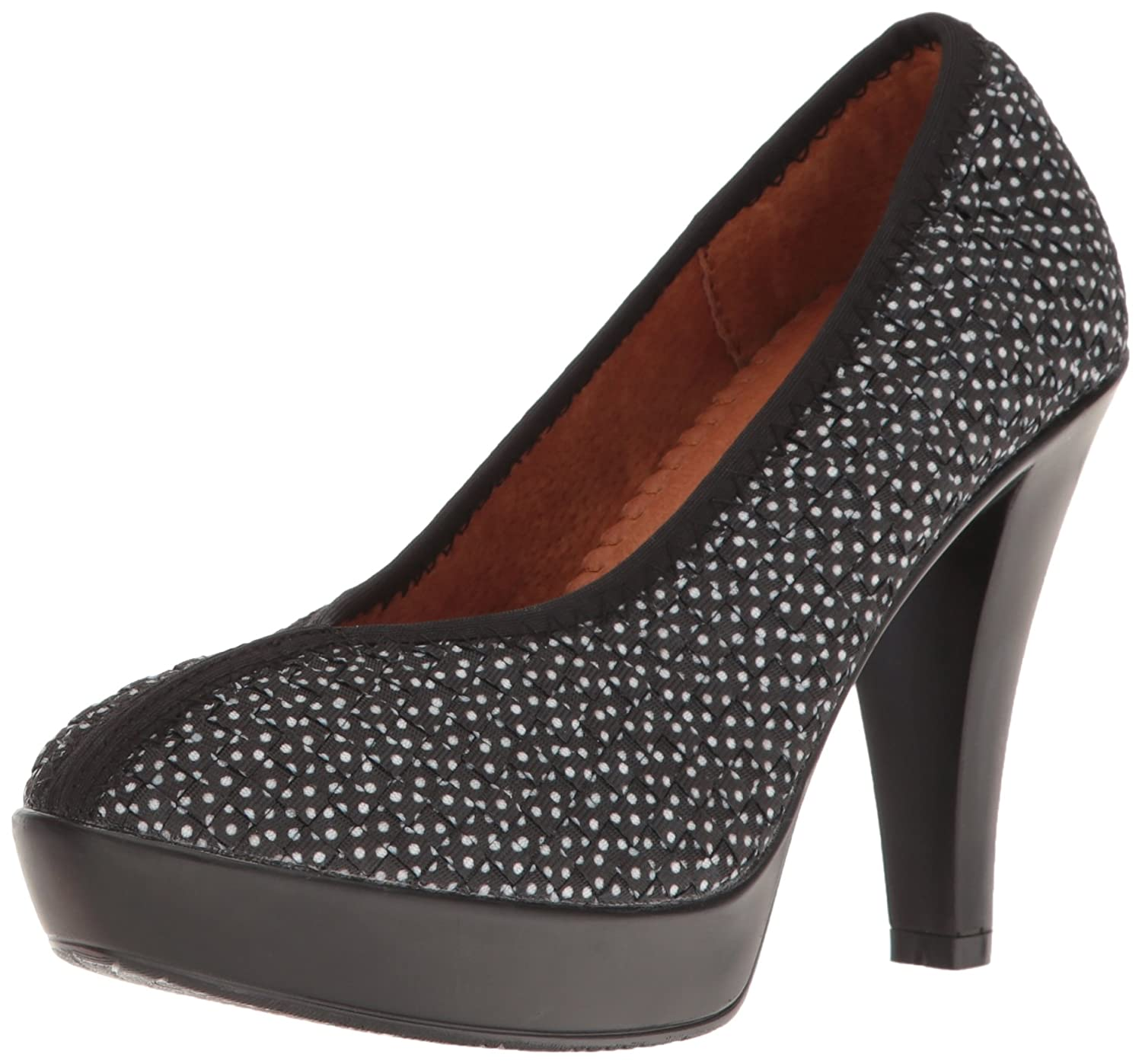 Bernie Mev Women's Legend Dress Pump B01NAN3AV1 41 M EU / 10.5 B(M) US|Black Polkadot