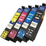 DAIMARU 純正品同様全色顔料系インク IC4CL69 エプソンIC69 互換インク ICBK69/ICC69/ICM69/ICY69 4本セット BK増量