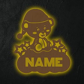 Bärchen Schlummerlicht Nachtlicht personalisiert mit Namen