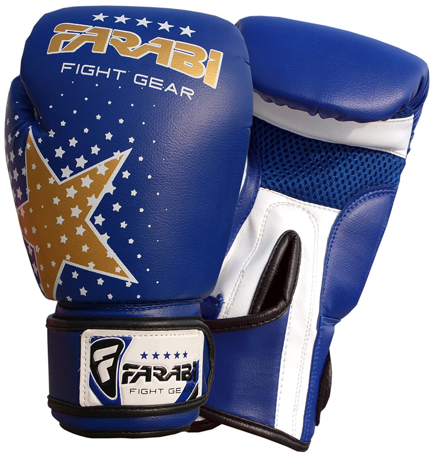 Farabi Beast Fighter Boxing Gloves Synthetic Leather Boxing Gloves