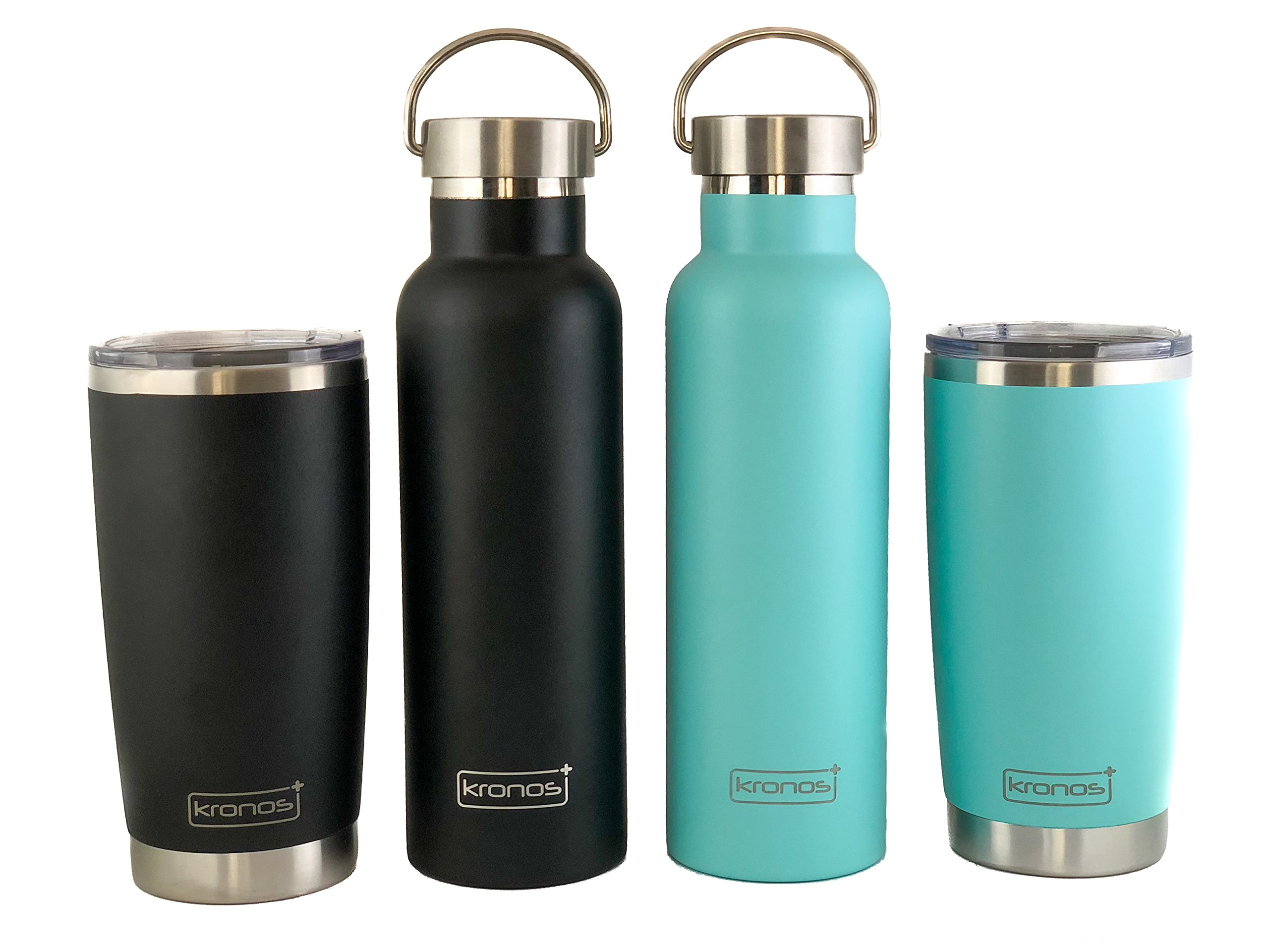 ( SEA FOAM ) Dishwasher Safe 20 oz Vacuum Insulated Thermos with High Quality Matte Finish - Coffee Mug Tumbler by Kronos + (Image #8)
